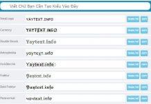 yaytext-info